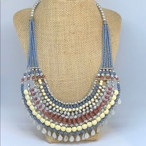 Boho Beaded Necklace, New